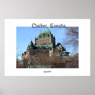 Québec, Quebec, Canada poster