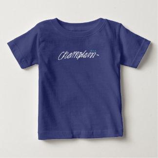 Québec Samuel de Champlain 1608 Signature Français Baby T-Shirt