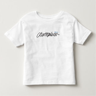 Québec Samuel de Champlain 1608 Signature Français Toddler T-shirt