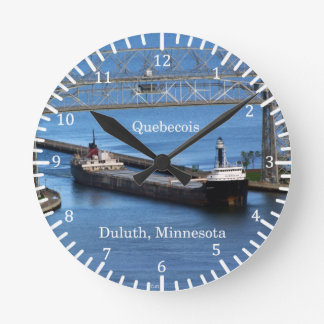 Quebecois clock