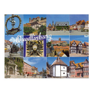 Quedlinburg - Postcard