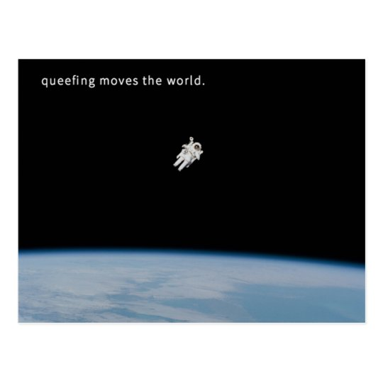 Queefing Moves the World Postcard