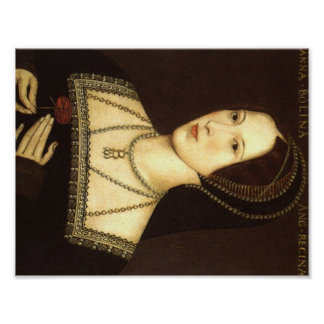 Queen Anne Boleyn of England Print