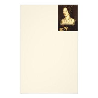 Queen Anne Boleyn Stationary Stationery