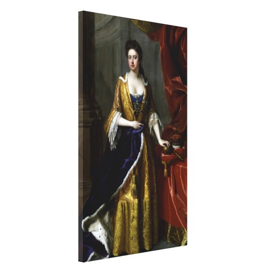 Queen Anne of Great Britain and Ireland Canvas Print