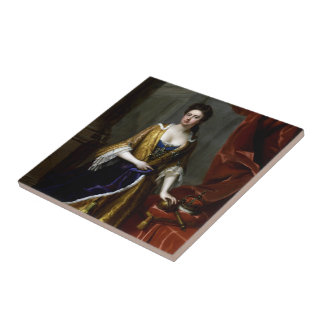 Queen Anne of Great Britain and Ireland Tile