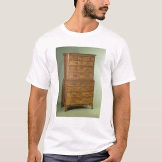 Queen Anne walnut tallboy, early 18th century T-Shirt