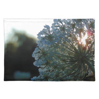 Queen Anne's Lace at Sunset Place Mat