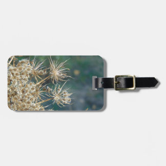 Queen Anne's Lace Close Up Luggage Tag