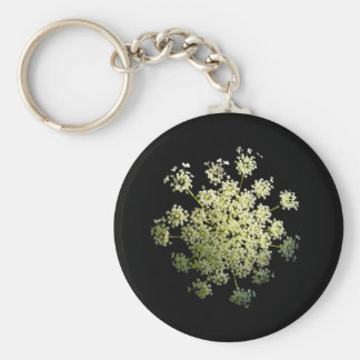 Queen Anne's Lace  cutout Keychain