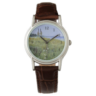 Queen Anne's Lace Delaware River Wrist Watch