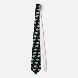 Queen Anne's Lace design necktie