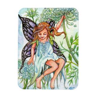Queen Anne's Lace Fairy Magnet