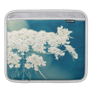 Queen Anne's Lace Flowers iPad Sleeve