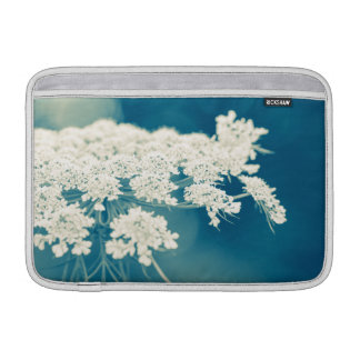 Queen Anne's Lace Flowers Macbook Air Sleeve 11""