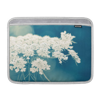 Queen Anne's Lace Flowers Macbook Air Sleeve 13""