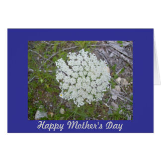 Queen Anne's Lace Mother's Day Card