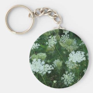 'Queen Ann's Lace' Keychain