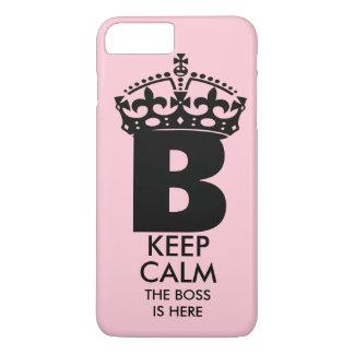 Queen B Keep Calm iPhone 7 Plus Case