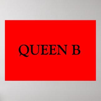 Queen B Posters