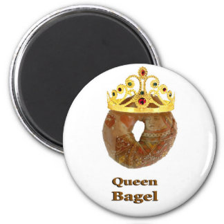 Queen Bagel Magnet