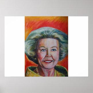 Queen Beatrix Poster
