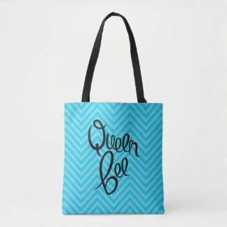 Queen Bee - Allover Print Tote