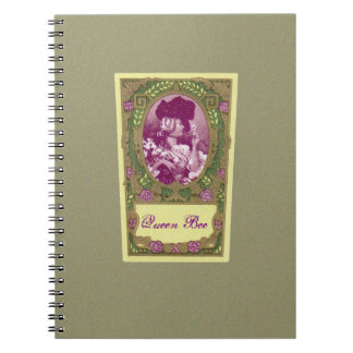 Queen Bee Antique French Perfume Notebook