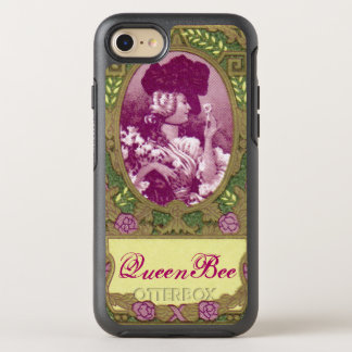 Queen Bee Antique French Perfume Phone OtterBox Symmetry iPhone 7 Case