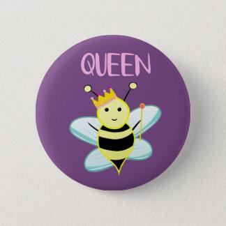 Queen BEE badge! 2 Inch Round Button
