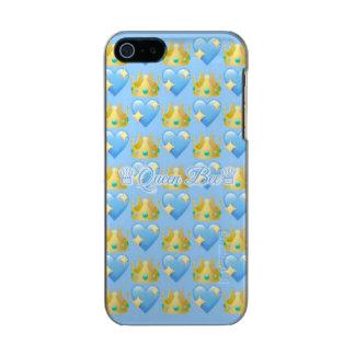Queen Bee (Blue) iPhone SE/5/5s ATLAS ID™ Incipio Feather® Shine iPhone 5 Case