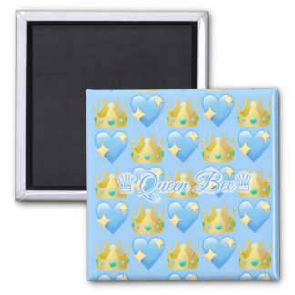 Queen Bee (Blue) Magnet
