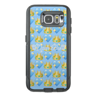 Queen Bee (Blue) Samsung Galaxy S6 Otterbox Case