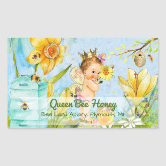 Queen Bee Canning Labe Sticker