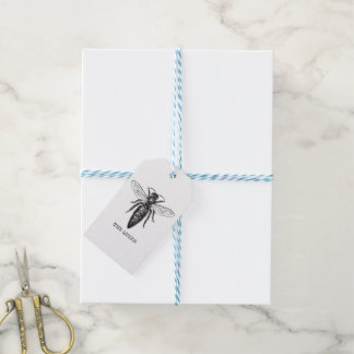 Queen Bee Classic Illustration Gift Tags