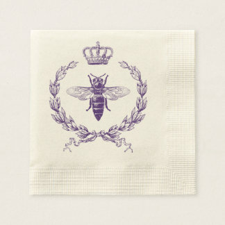 Queen Bee Disposable Napkins