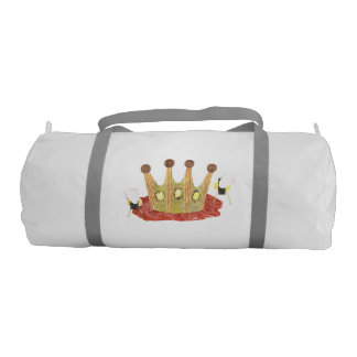 Queen Bee Duffle Gym Bag