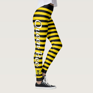 Queen Bee (editable) Leggings