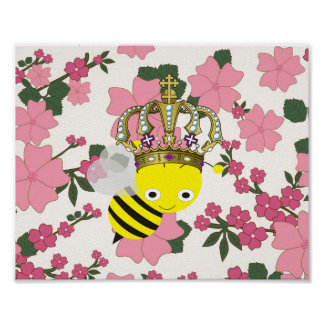 Queen Bee Frameable Poster