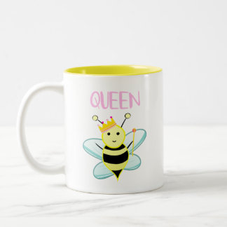 Queen BEE mug! Two-Tone Coffee Mug