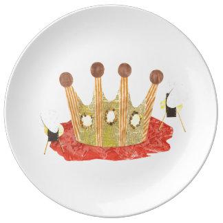Queen Bee Porcelain Plate