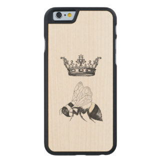 Queen Bee Wooden Iphone case