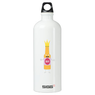 Queen Beer bottle with crone Zfq4y