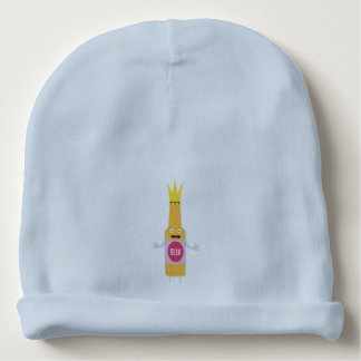 Queen Beer bottle with crone Zfq4y Baby Beanie