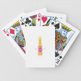 Queen Beer bottle with crone Zfq4y Bicycle Playing Cards