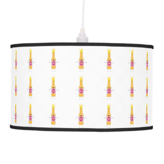 Queen Beer bottle with crone Zfq4y Pendant Lamp
