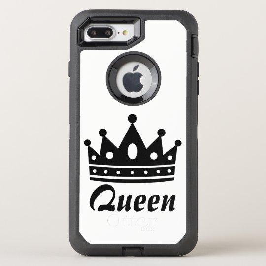 Queen Black & White Otterbox Case