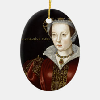 Queen Catherine Parr Ceramic Ornament