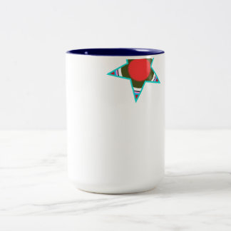Queen Colossal Star Two-Tone Coffee Mug