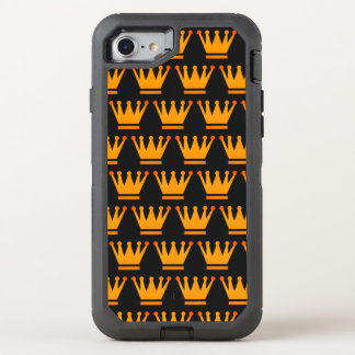 Queen Crown Gold Black Case
